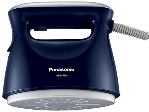 パナソニック 衣類スチーマー/スチームアイロン/ハンガーにかけたまま ダークブルー NI-FS530-DA