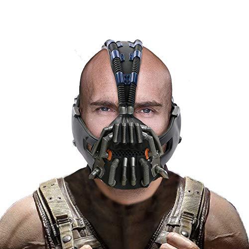 Bane Maske The Dark Knight Rises Cosplay Kostüm Zubehör Film Kleidung Replik für Herren Erwachsene Halloween Merchandise