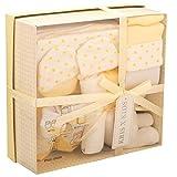 Set de regalo de 4 prendas, de 0 a 3 meses- amarillo Stars Lemon Talla:recién nacido