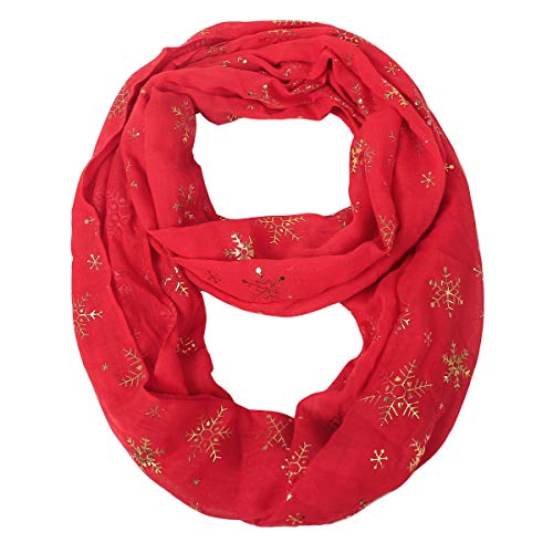 Women Lightweight Infinity Scarf Loop - Soft Light Thin For 2019 Winter New Design Fashion Print Scarfs CC Ideal Christmas Gift, bufandas de mujer para invierno