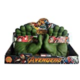 MIRECLE Guantes Avengers Hulk Spiderman Puño Juguete (Color : Gloves for Children)