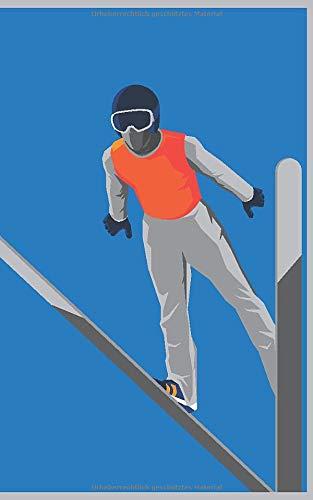 Wintersport – Modern Ski Alpin Collection: BUJO Journal- Moodboard – Gedankenbuch: Notizbuch - Tagebuch - Passwortbuch - Notizheft - Sketchnotes - ... [DIN A5 - Softcover – linierte Blankoseiten]
