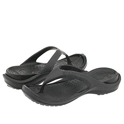 Crocs Athens (Unisex) (Black/Black) Slide Shoes