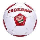 QuRRong Balón de Fútbol PVC Tamaño 4 Fútbol Resistente al Desgaste Escuela Primaria Niños y Adolescentes Resistente al Desgaste Mini Fútbol Fútbol de Kindergarten para Backyard Street