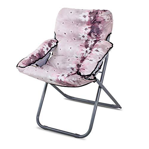QTQZHH Klapp Computer Stuhl Sofa Stuhl Mode Faul Sofa Matratze Stühle können Liegen Freizeit Home Rückenlehne Schlitten Faul Sofa (eine Vielzahl von Farben optional) (Farbe: # 12)