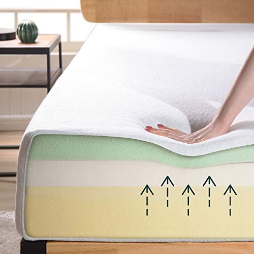 Zinus 8 Inch Ultima Memory Foam Mattress / Pressure Relieving / CertiPUR-US Certified / Bed-in-a-Box, Queen