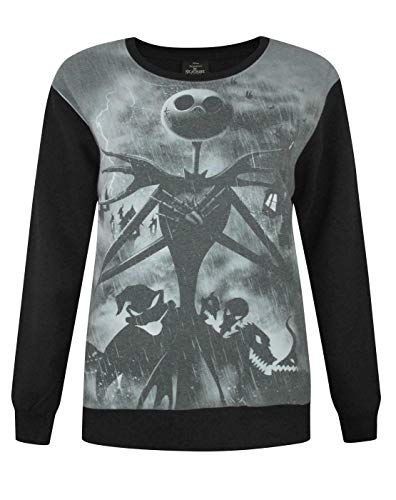 Disney Nightmare Before Christmas Sublimation Women's Sweater