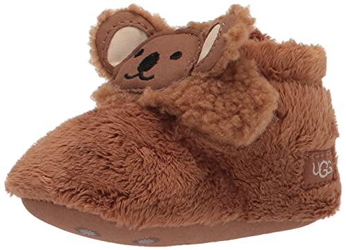 UGG Baby I BIXBEE Koala STUFFIE Fashion Boot, Chestnut, US 0-1 Unisex Infant