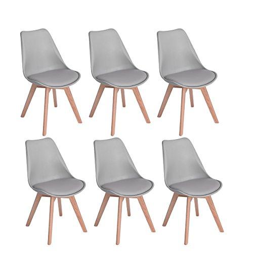 chaise scandinave leclerc
