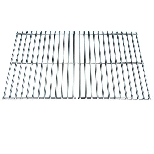 Direct Store Parts DS112 Solid Stainless Steel Cooking grids Replacement for Weber BBQ Stainless Steel Cooking Grill Grid Grate 7521 7523 9855 (Aftermarket Parts)