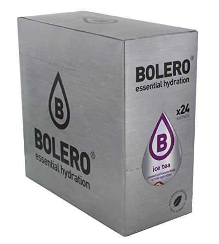 Bolero Bebida Instantánea sin Azúcar, Sabor Té Maracuyá - Paquete de 24 x 8 gr - Total: 192 gr