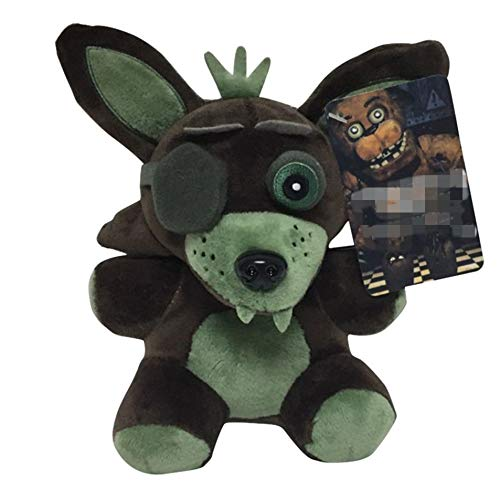 7''/18cm Phantom Foxy Plushies Pillow Toys Gift for Kids FNAF Fans
