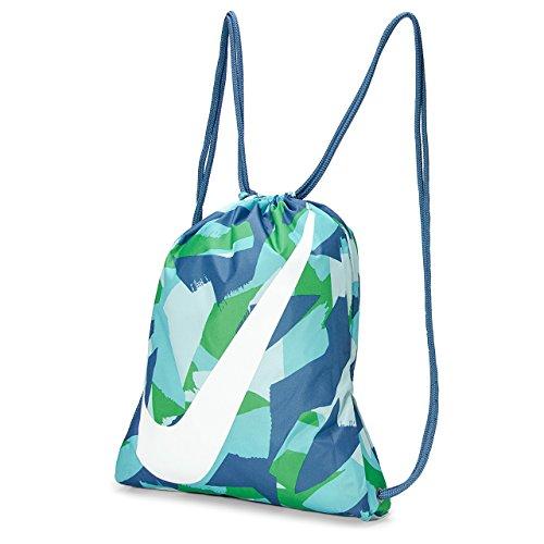 Nike gmsk-GFX Tasche, Unisex Kinder Einheitsgröße Blau (Industrie-Blau/weiß)