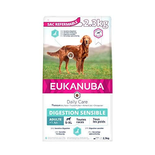 Eukanuba Daily Care Croquette Digestion Sensible pour Chien 2,5 kg