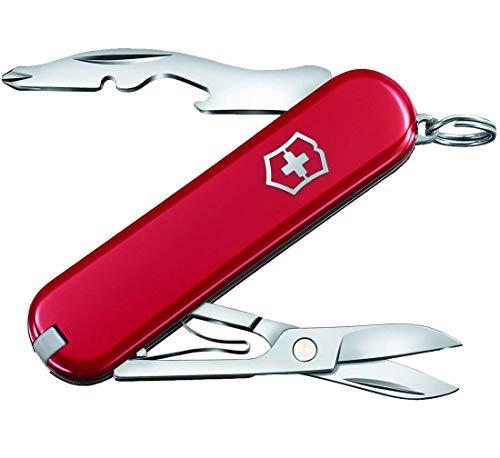 Victorinox Jetsetter Taschenmesser, 7 Funktionen, Schere, Ohne Klinge, rot