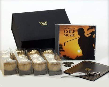 [ゴルフ コンペ 景品 ギフト] チョコレートのような超豪華BOX入り セレブゴルフボール ギフトセット