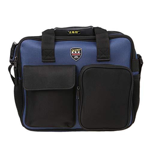 VIccoo Werkzeug Umhängetasche, 600D Repair Tool Kit Umhängetasche Tragbare Handtasche Aufbewahrungskoffer Beutel Organizer mit reflektierendem Streifen für die Gartenarbeit von Arbeitern