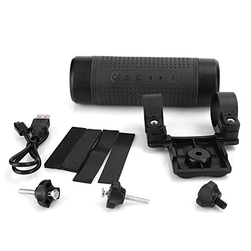 Small Bass Waterproof Wireless Mini Speaker Multifunctional Outdoor Bike Support FM Radio