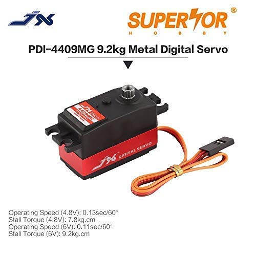 JX Servo PDI-4409MG 9KG Short Digital Standard 1/8 1/10 RC car Drift car Low Profile Metal Gear 3racing 3R Sakura D4 CS Yokomo YD2S