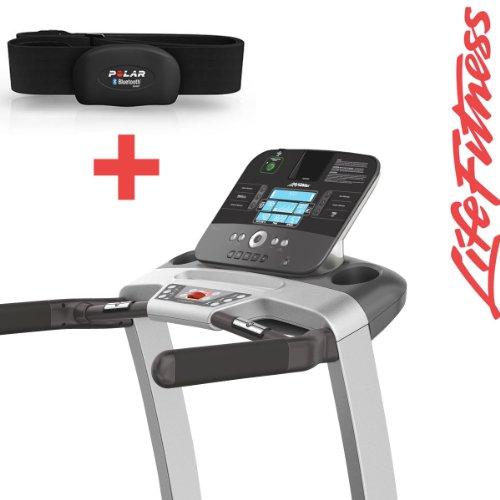 Life Fitness T3 Track Cinta de Correr con H7 Polar Correa de Pecho ...