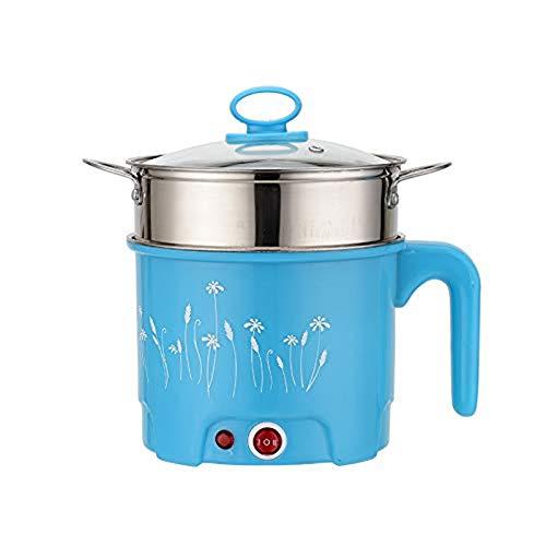 Rijstkoker, Rijst Steamer, 1.8L Multi-Function Electric Skillet Noodles Rice Cooker Thermische Isolatie Kookpot Pan Voedsel Container