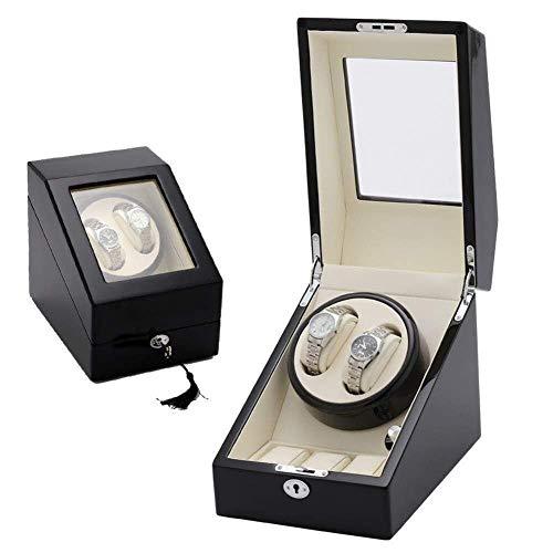 ZCYXQR Enrollador automático de Reloj, Caja de Almacenamiento Shaker, Transfer, Moda mecánica (Color: E) (Color: E)