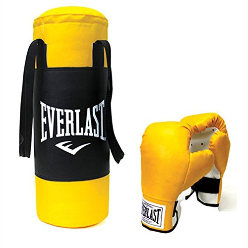Everlast guantes de boxeo saco de arena Set amarillo