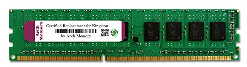 Arch Memory 4 GB 240-Pin DDR3 Udimm RAM Replacement for KVR1333D3N9/4G Anti-Static Gloves Included