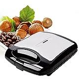 Desayuno Máquina de pastel de nueces de pino, Mini máquina de gofres eléctrica multifunción, Pastel de nueces Máquina de rollo de huevo Placa antiadherente Fácil de limpiar