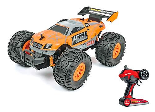 Ninco Marshal. Coche teledirigido de carrocería ligera. Hasta 15km/h. 2.4GHz Color: naranja. Medidas: 29 cm x 19 cm, NH93131