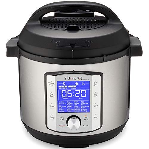 Instant Pot Duo Evo Plus 9-in-1 Electric Pressure Cooker, Slow Cooker, Rice Cooker, Grain Maker, Steamer, Saute, Yogurt Maker, Sous Vide, Bake, and Warmer, 6 Quart, Easy-Seal Lid, 10 Programs