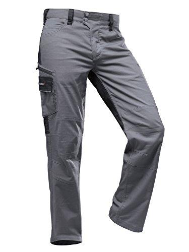 Pfanner StretchFlex Canfull Arbeitshose 107055, Farbe:grau/schwarz;Größe:54