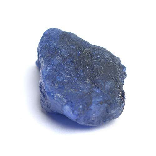 Raw Rough Sapphire 63.00 Ct Certified Uncut Natural Blue Sapphire Gemstone for Astrological Gem