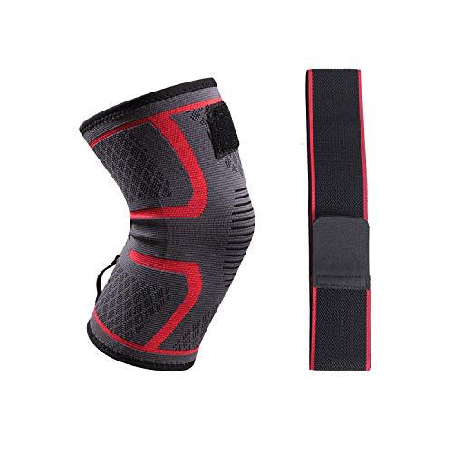 AoToZan 2 in 1 Kompression Kniebandage Kniestütze Verband Schmerzen Sport Bandage knieschiene Laufen Schutz Knie für Damen und Herren