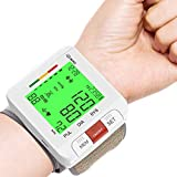 Wrist Blood Pressure Monitor, 【2021 Model】 Annsky Blood Pressure Machines for Home Use, Automatic BP Machine with Calculate Average, Heart Rate Pulse and 2 User 198 Memories, Batteries Include