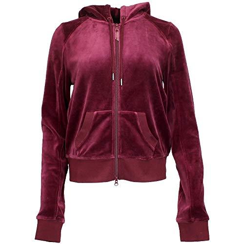 PUMA Women's Fenty Velour Fitted Zip UP Track Jacket, Tawny Port, XS