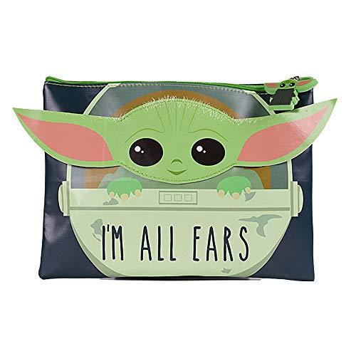 Star Wars Baby Yoda- Star Wars - Estuche para lápices con diseño de Yoda (Pyramid SR73282)