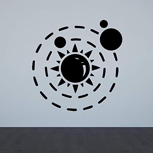 Sanzangtang Grappige Zon muurstickers persoonlijk creatieve woonkamer decoratie vinyl kunst decoratie decoratie