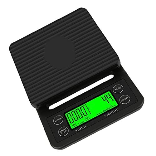 Bilancia elettronica Drip Bilancia con goccia con timer LCD Bilancia da cucina ad alta precisione scala digitale 5kg strumenti industriali