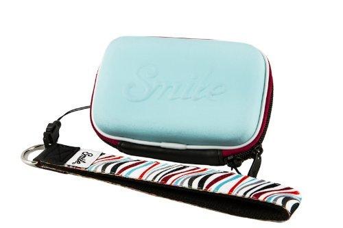 Smile - Funda compacta Mod Style para cámara fotográfica. Incluye Correa de Mano.