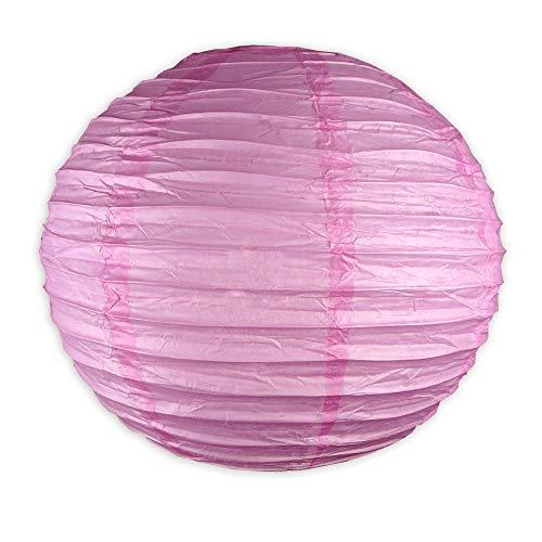 EinsSein 1 x LAMPION Medium pink DM 25cm Hochzeit Wedding Laterne Papierlampion