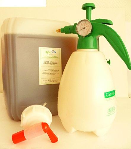 Biotec - Wildsperre zur Wildabwehr - 10Liter Kanister (Grundpreis pro Liter 16,065€)