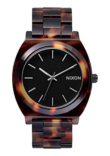 Nixon Women's A327-646 Plastic Analog with Black Dial Watch
