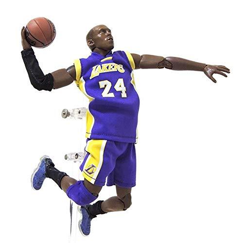 lkw-love Figuras de Anime Figura de acción Juguete Serie NBA Jordan Kobe James Curry Modelo Souvenirs/Coleccionables/Manualidades 22 cm Estatua de Juguete (Color: Jordan)-Kobe