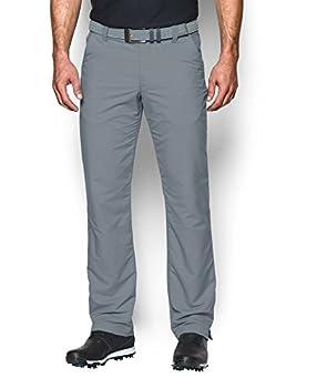Under Armour Men s Match Play Golf Pants  Steel  035 /Steel  30/36