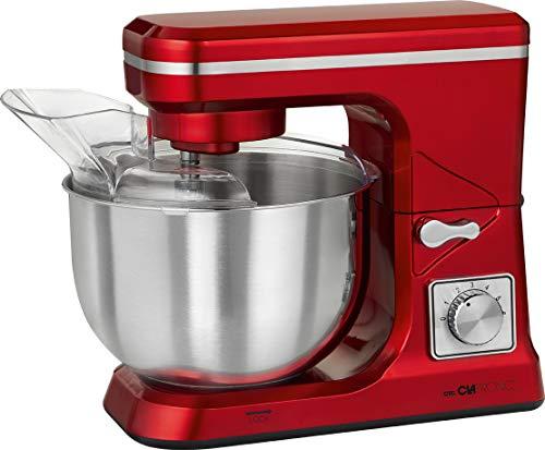 Clatronic KM 3647 1000W 5L Rosso, Acciaio inossidabile robot da cucina