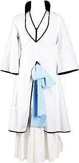 CHIUS Cosplay Costume Outfit for Kitsune Ichimaru Gin Arrancar Version 2