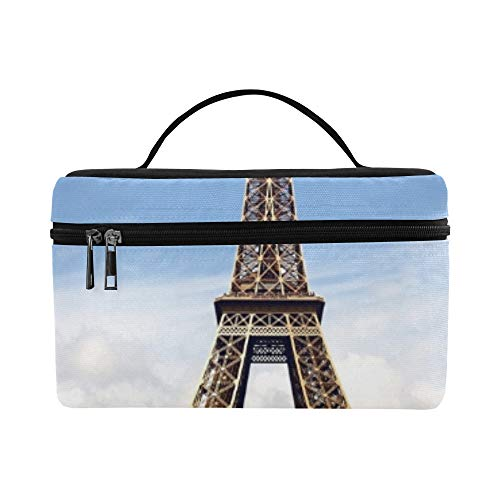 Paris Eiffel Tower Lunch Box Tote Bag Lunch Holder Insular Lunch Cooler Bag Para Mujeres/hombres/picnic/canotaje/playa/pesca/escuela/trabajo
