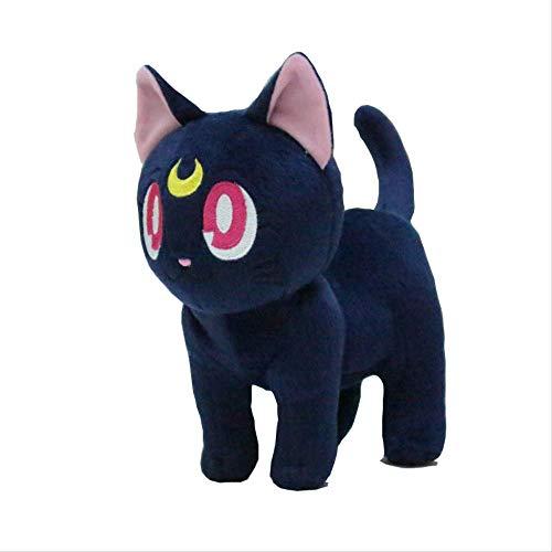 Yzhome Sailor Moon Plüschtier Puppe 30Cm, Moon Luna Katze Anime Plüschtier Puppe Home Decoration Collection Spielzeug Geschenk