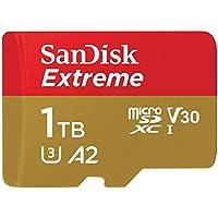 SanDisk 1TB Extreme UHS-I MicroSDXC Memory Card w/ Adapter